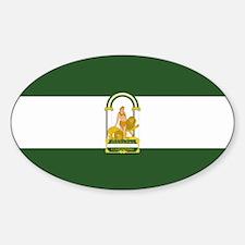 Funny Spanish flag Decal