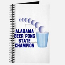 Alabama Beer Pong State Champ Journal