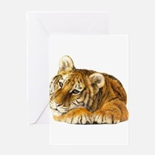 young tiger.jpg Greeting Cards