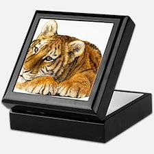 young tiger.jpg Keepsake Box