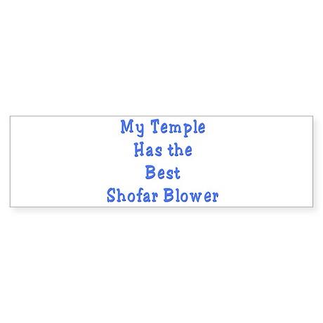 Shofar Blower Bumper Sticker