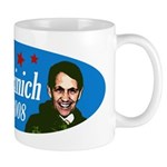 Dennis Kucinich for President Mug