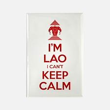 I'm Lao I Can't Keep Calm Magnets