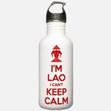 I'm Lao I Can't Keep Calm Sports Water Bottle