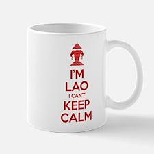 I'm Lao I Can't Keep Calm Mugs