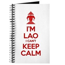 I'm Lao I Can't Keep Calm Journal