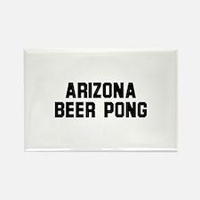 Arizona Beer Pong Rectangle Magnet