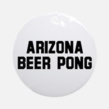 Arizona Beer Pong Ornament (Round)
