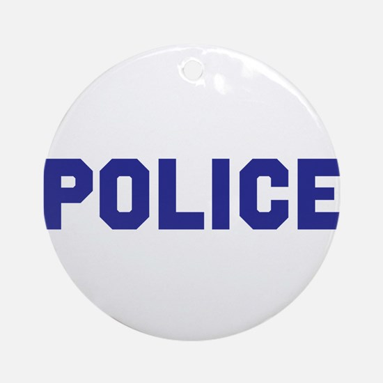 POLICE Round Ornament