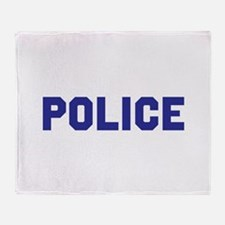 POLICE Throw Blanket