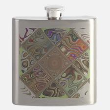 Cute Circles Flask
