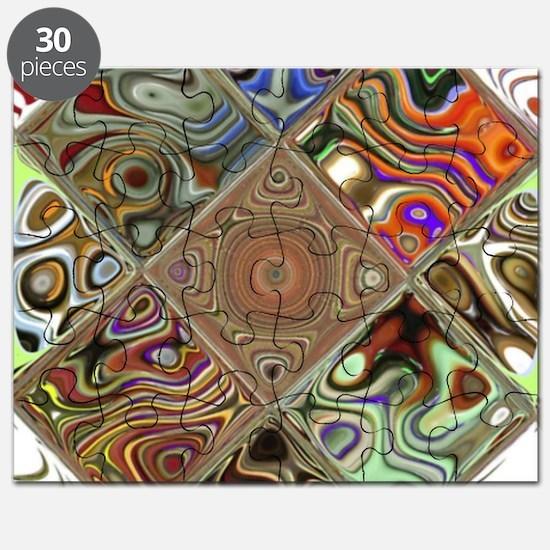 Funny Mandalas Puzzle