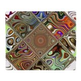 Abstract Fleece Blankets