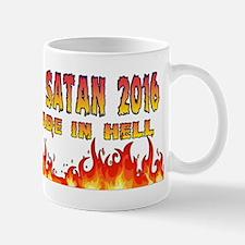 Hillary and Satan 2016 Mugs