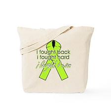 Lyme Disease I Fought Back Tote Bag