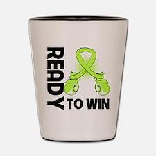 Lyme Disease Ready to Win Shot Glass