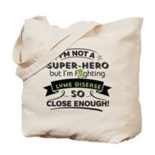 Lyme Disease Super-Hero Tote Bag