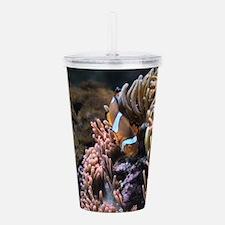 Funny Aquarium Acrylic Double-wall Tumbler