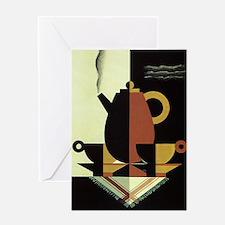 Vintage Coffee Greeting Cards