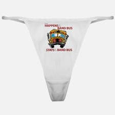 What Happens on the Band Bus Classic Thong