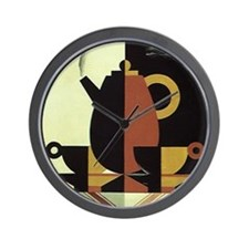 Vintage Coffee Wall Clock