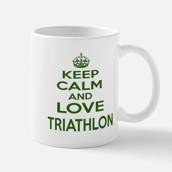 Keep calm and love Triathlon Mug