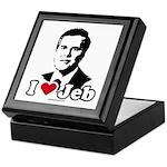 I Love Jeb Keepsake Box