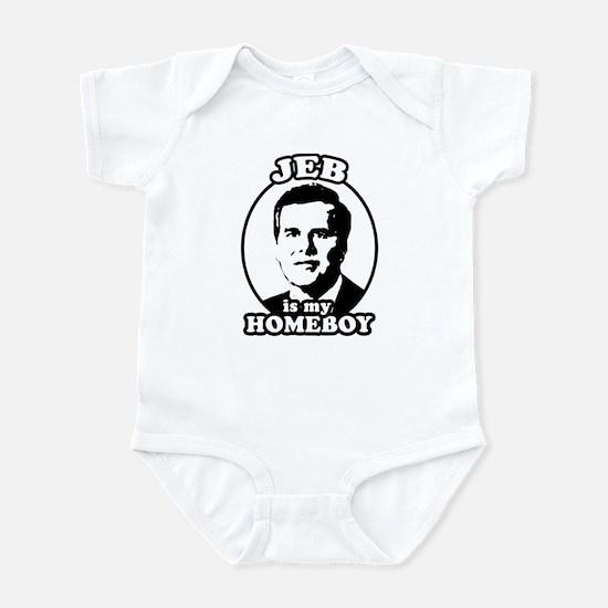 Jeb is my homeboy Infant Bodysuit