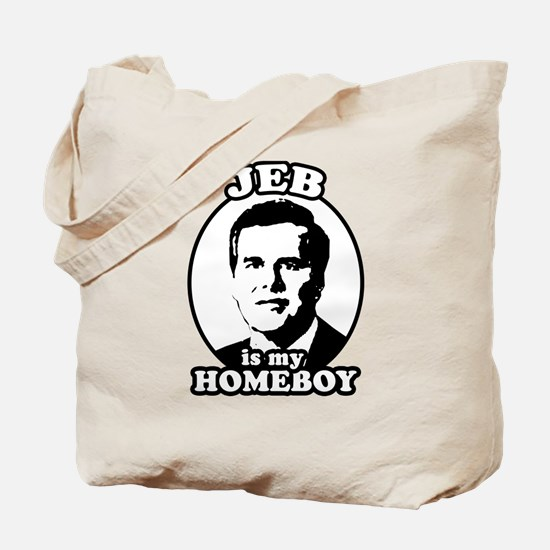 Jeb is my homeboy Tote Bag