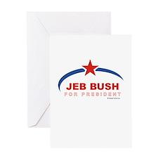 Jeb Bush for President Greeting Card