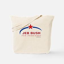 Jeb Bush for President Tote Bag