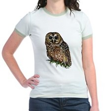 Spotted Owl Jr. Ringer (pink, yellow, or mint)