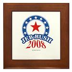 Jeb Bush Framed Tile
