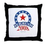Jeb Bush Throw Pillow