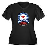 Jeb Bush Women's Plus Size V-Neck Dark T-Shirt