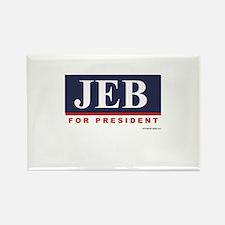 Jeb for President Rectangle Magnet