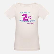 Custom Two Years Old T-Shirt