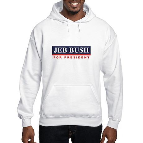 Jeb Bush for President Hooded Sweatshirt