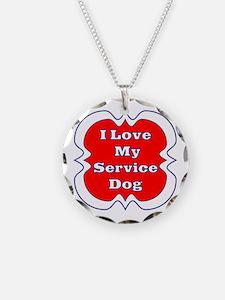 SERVICE DOG Necklace