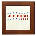 Jeb Bush 2008 Framed Tile