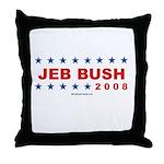 Jeb Bush 2008 Throw Pillow