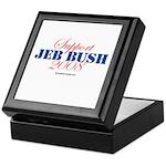 Support Jeb Bush Keepsake Box