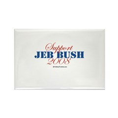 Support Jeb Bush Rectangle Magnet (10 pack)