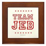 Team Jeb Framed Tile