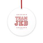 Team Jeb Ornament (Round)