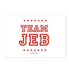 Team Jeb Postcards (Package of 8)