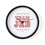 Team Jeb Wall Clock