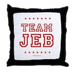 Team Jeb Throw Pillow