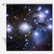 Pleiades/nautilus Shower Curtain