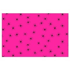 psychobilly pink spiders Poster